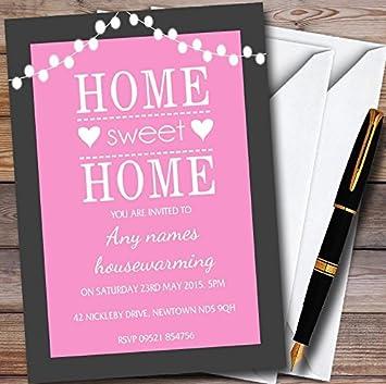 Amazon Com 10 X Pink String Lights Customized Housewarming