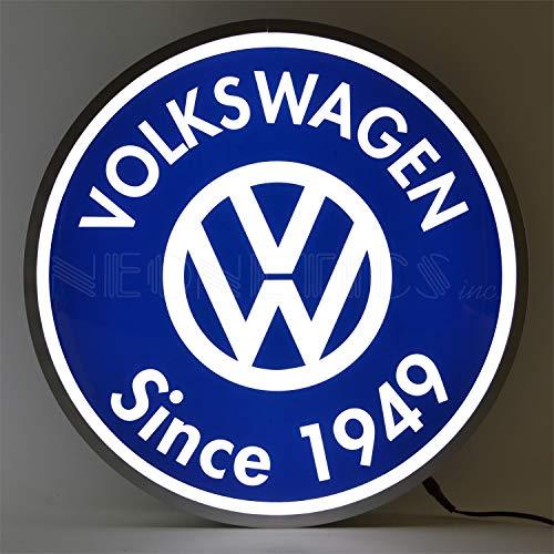 (Neonetics VW Volkswagen Since 1949 15 INCH Backlit LED Lighted Sign, 15
