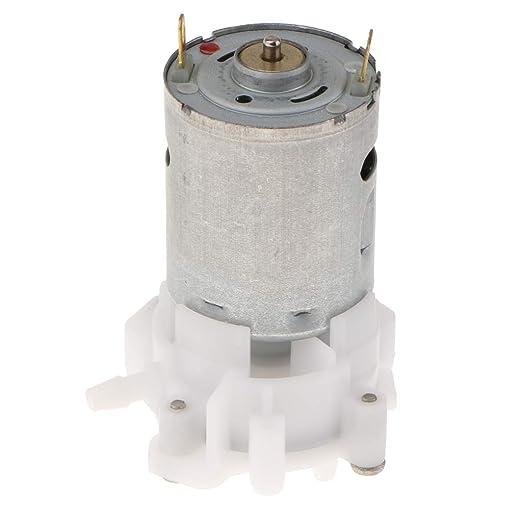 Homyl DC 3-12V Mini Self-Priming Gear Pump Aquarium Water Micro Pumping Tool with RS-360SH Motor