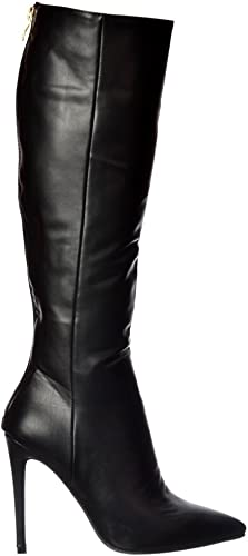 Stiletto Heel Pointed Toe Knee High