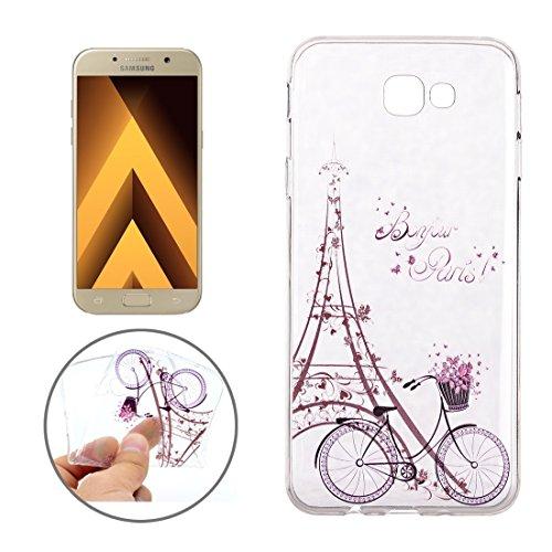 XIAOGUA Cases & Covers, Para Samsung Galaxy A7 (2017) / A720 estampado de flores suave TPU funda protectora de la contraportada ( SKU : Sas9902e ) Sas9902g