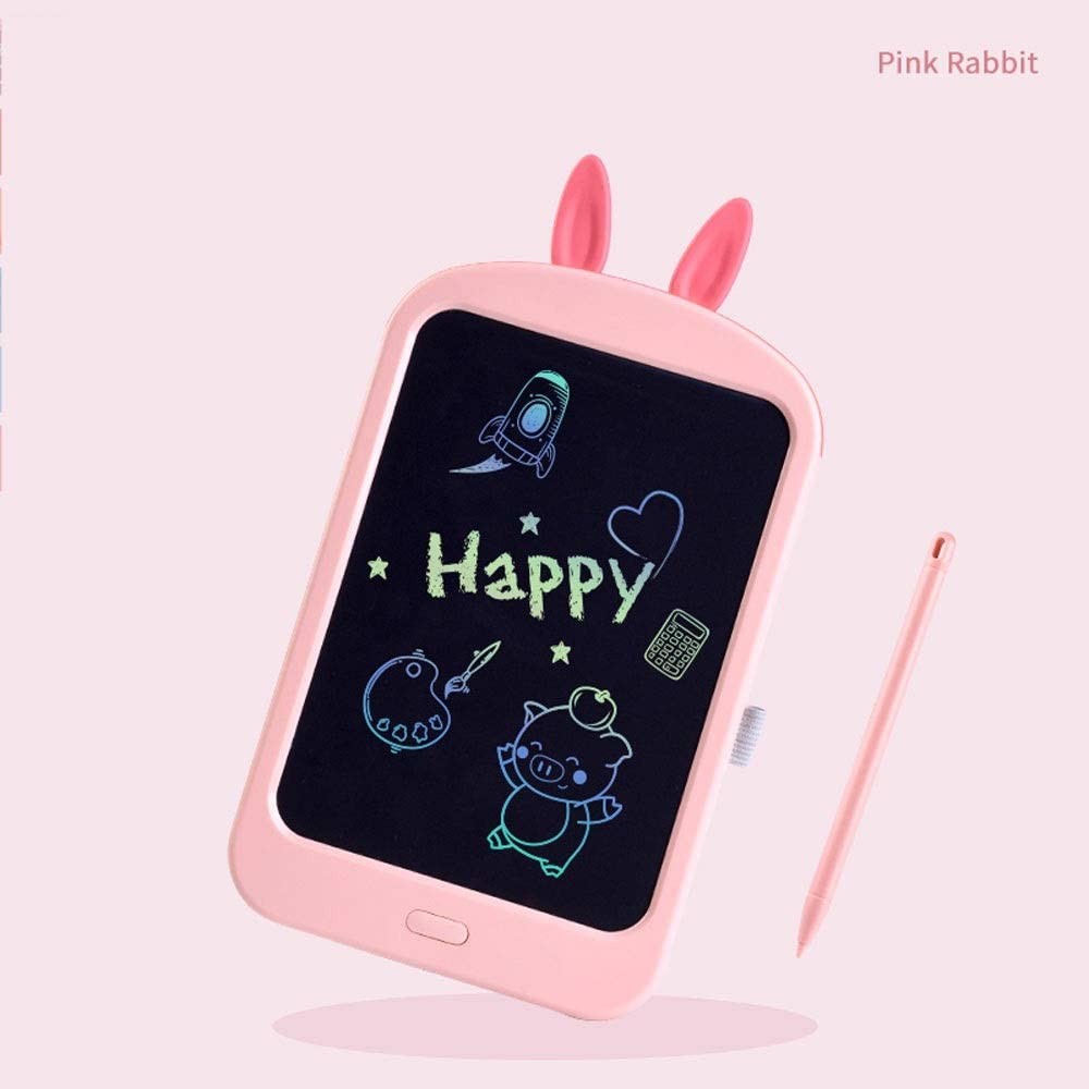 Color : Pink, Size : Colorful Fighrh LCD Writing Tablet with Memory Lock Colorful Handwriting Tablet Electronic Writing Board Digital Drawing Board LCD Graphic Drawing Tablet Childrens Gift