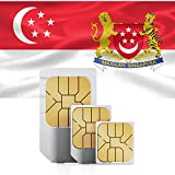 1GB of Mobile Internet data sim card to use in Singapore for 30 Days Rechargeable