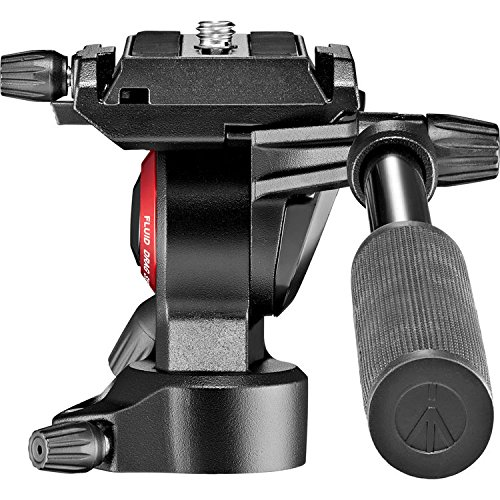 Manfrotto MVH400AHUS Lightweight, Travel Friendly Be Free Live Fluid Video Head, Black