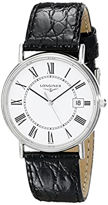 Longines Men's L47204112 Presence Collection Watch