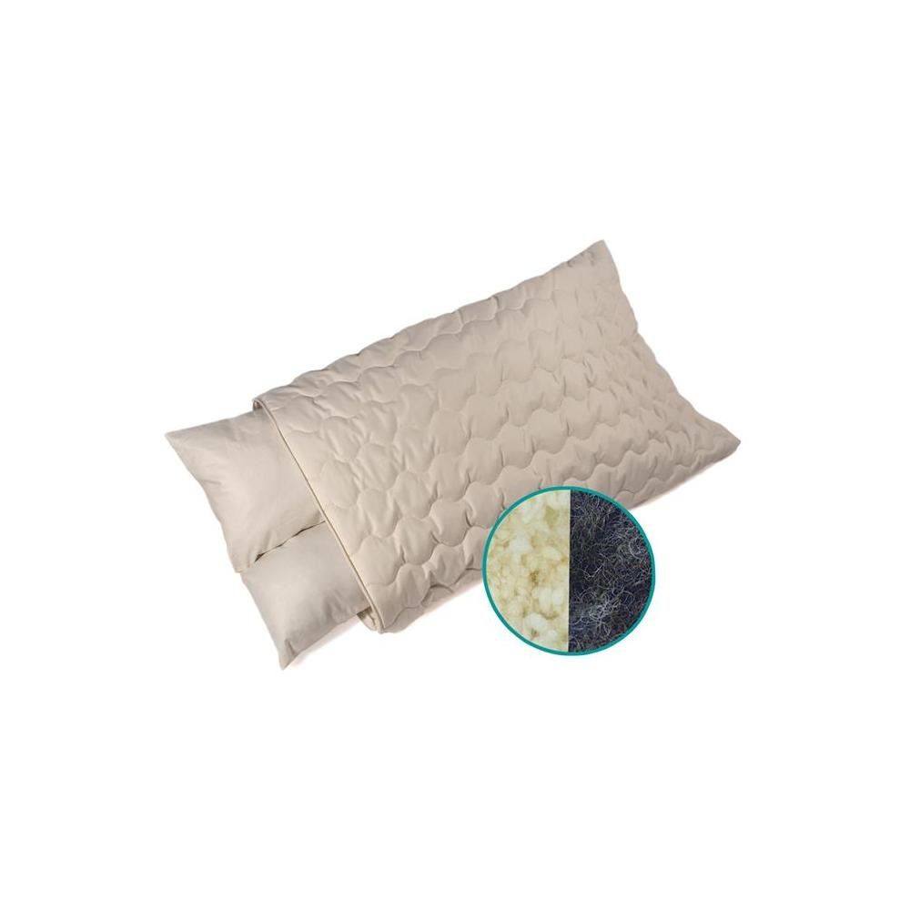 Amazon.com: Crin/Organic lana cuello apoyo almohada: Home ...