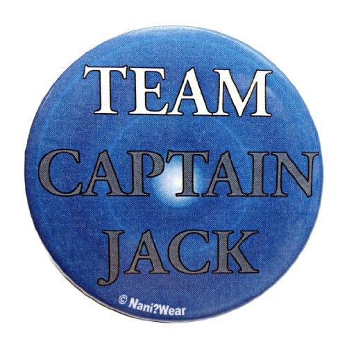 Doctor Who Button: Companion 'Captain Jack'