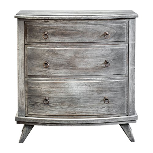 Price comparison product image Weathered Wood Gray Accent Dresser Chest | Rustic Country Cottage