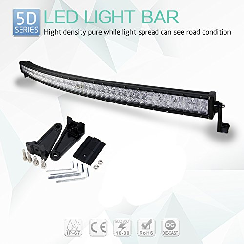 54 curved led light bar - 8