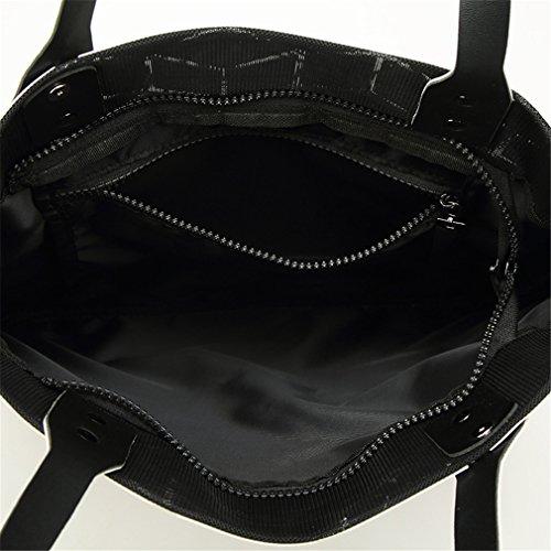 Unique BLACKHEI Sac Femme à Taille Main Style Style 2 Gray 2 pour Black qzOqrdxwB