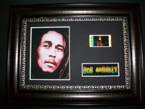 BOB MARLEY Framed Film Cell Display Collectible Movie Memorabilia