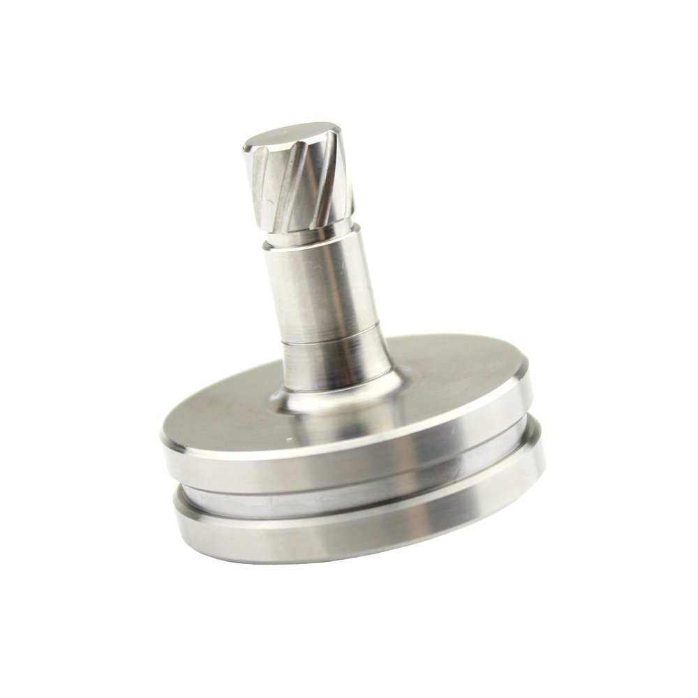 Titanium Pocket Top Precision Handmade Accurate Spinning Top High End Collection