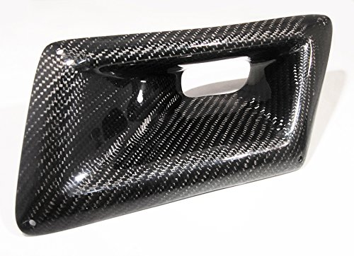 Carbon Fiber Front Bumper Intake Hole Air Duct Cover for Nissan 2003-2009 350Z Z33 - Left Side ()
