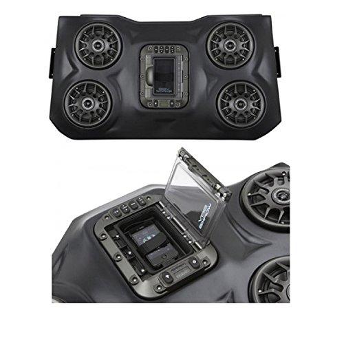 2008 – 2018 Polaris RZR XP 1000 SSV Works Bluetooth iPod 4スピーカーオーバーヘッドシステムby Factory UTV B075MBP61B