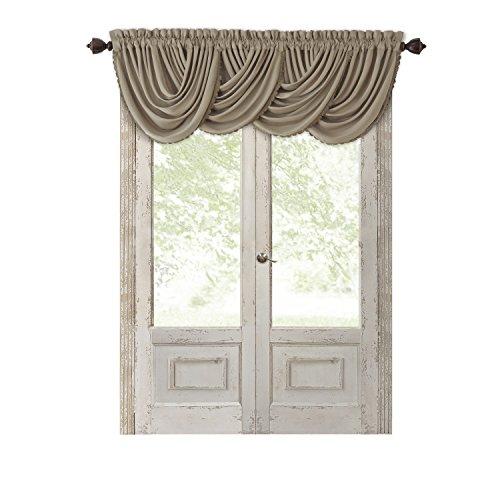 Elrene Home Fashions All Seasons Energy Efficient Room Darkening Rod Pocket Window Panel, 52
