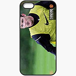 Personalized iPhone 5 5S Cell phone Case/Cover Skin 4 Manchester United Football Black by icecream design