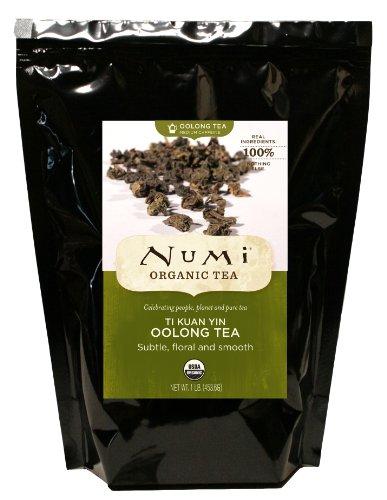 Green Ti Leaves (Numi Organic Loose Tea, Ti Kuan Yin, 16)