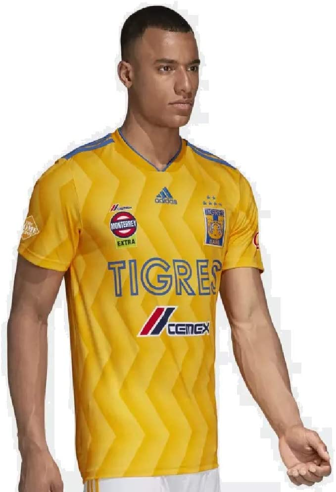 adidas 2018/19 Tigres UANL Home Jersey Small (Collegiate Gold ...