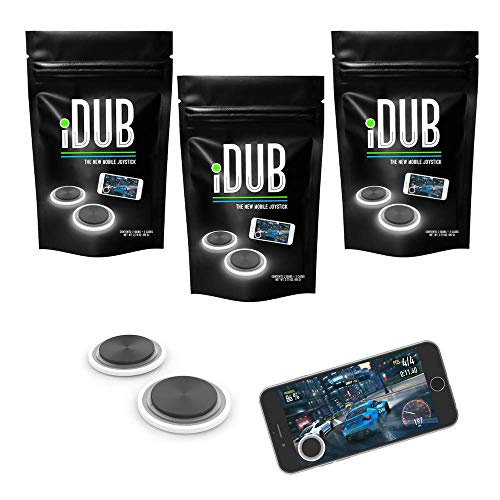 iDub Mobile Gaming Joystick | Video Game Controller for Shooting, Fighting and Survival Games | Cell Phone Accessories…
