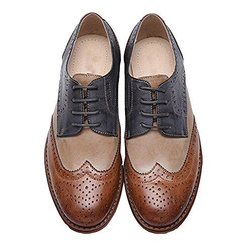 Oyangs - Zapatos Planos con Cordones mujer a