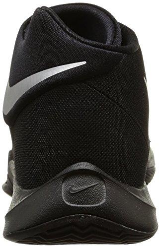 Calzado De Baloncesto Nike Hombres Zoom Hyperquickness 2015 Negro / Plateado Metálico Tamaño 10 M Us