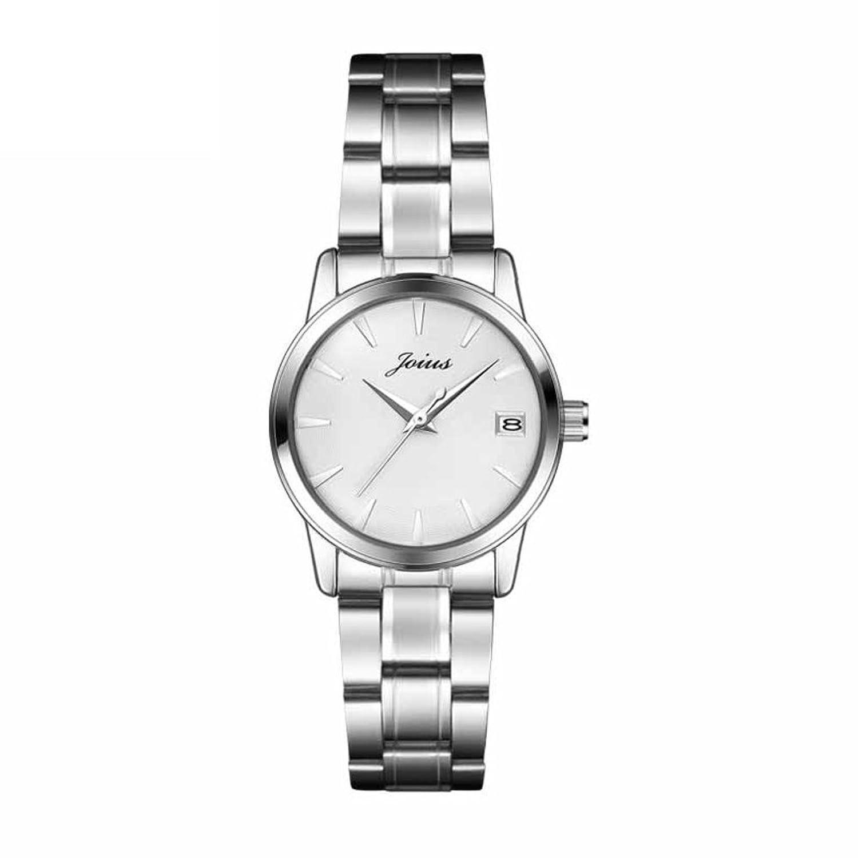 ファッションスチール時計/シンプルなクオーツ時計/カレンダーLadies watch-c B06XJN8D8L