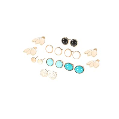 """PAIR STEEL STEAMPUNK GEAR WITH WHITE OPAL SINGLE FLARED GAUGES PLUGS 4g 5//8/"""""""