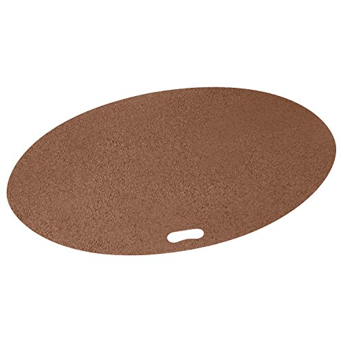The Original Grill Pad Brown Grill Pad, Oval