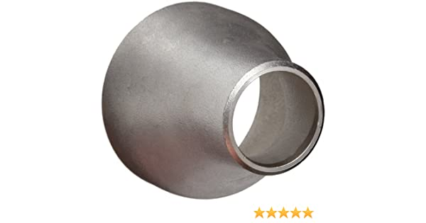 Stainless Steel 316//316L Pipe Fitting 1-1//2 Pipe Size 1-1//2 Pipe Size Merit Brass Schedule 10 Long Radius 90 Degree Elbow Butt-Weld