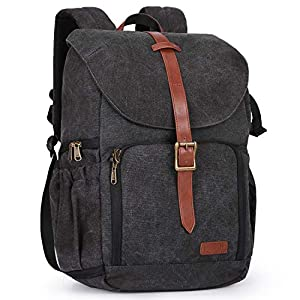 Camera Backpack, BAGSMAR DSLR Camera Bag Backpack, Anti-Theft and Waterproof Camera Backpack for Photographers, Fit up…