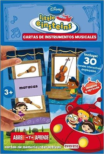Little Einsteins. Cartas de instrumentos musicales ...