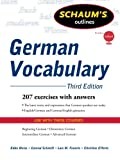 Schaum's Outline of German Vocabulary, 3ed (Schaum's Outlines)