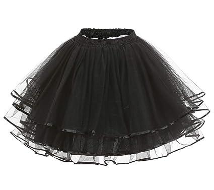 Aysimple Mini Falda Tul Tutú para Fiesta Disfraz Tutú de Ballet ...
