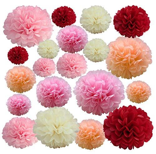 - 20 PCS Pink Party Decorations -14