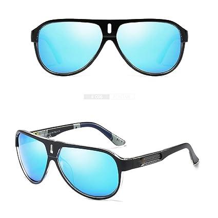 Nalkusxi Gafas de Sol polarizadas para Hombre Gafas Deportivas para la visión Nocturna para Ciclismo Pesca
