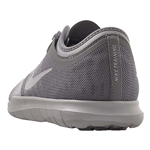 Nike Womens Wmns Flex Adapt TR, Pure Platinum / Black / White - Volt, 10 M US