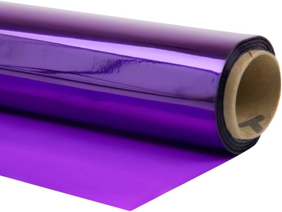 Cellophane Wrap (Purple, 24