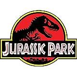 "JURASSIC PARK 9""x12"" Sticker Decal Vinyl Jeep Safari Dinosaur Large"