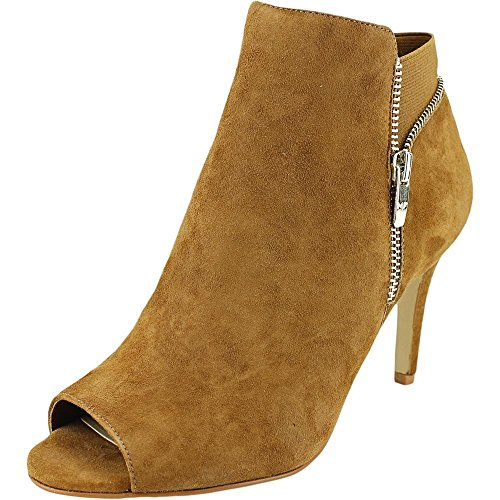 Marc Fisher Serenity W Peep-Toe Suede Ankle Boot
