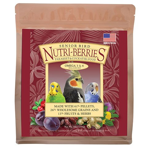 (LAFEBER'S Senior Bird Nutri-Berries for Parakeet & Cockatiel 3 lb)