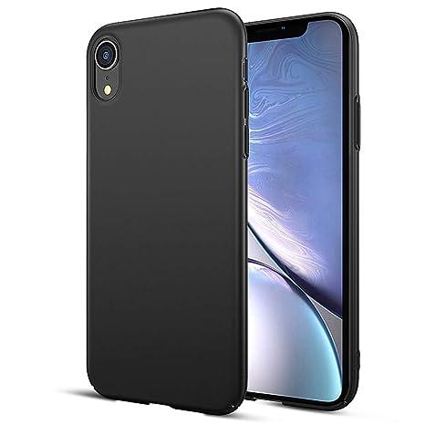 coque silicone iphone xr noir