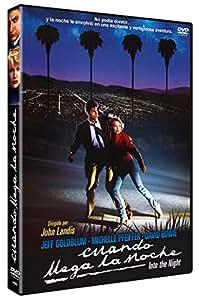 Cuando Llega La Noche 1985 DVD Into the Night