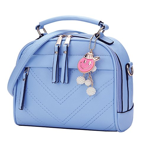 Bag Shoulder Dissa Light One Size Blue Womens zvqwqEB