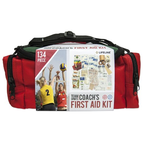 Bottle Lifeline First Aid - Lifeline Team Sport Coach First Aid and Safety Kit, Stocked with Essential First aid Components for Emergencies Resulting from Outdoor and Team Sports Activities