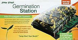 Jump Start CK64050, Germination Station w/Heat Mat, Tray, 72-Cell Pack, 2\