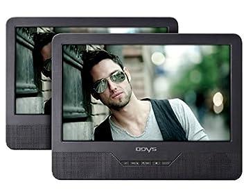Odys Seal - Reproductor de DVD portátil con 2 pantallas (LCD TFT ...