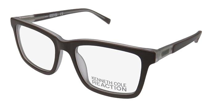 808e0742afb Kenneth Cole Reaction Rx Eyeglasses - KC 780 0780 049 - Matte Dark Brown (50