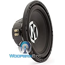 """15-SRX12D4 - Memphis 12"""" 250W RMS 500W Max Dual 4-Ohm Street Reference Subwoofer"""