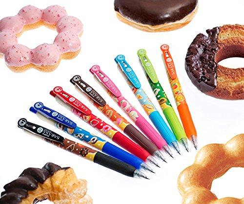 Md Milk (Zebra gel ball pen Sarasa clip mister donut blue [scent of milk] B - JJ 29 - MD - BL)