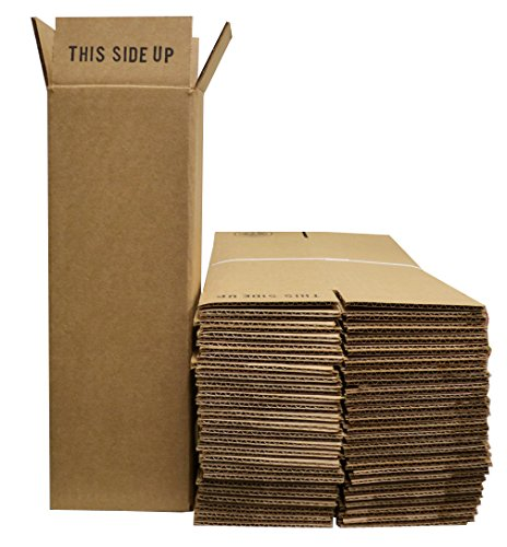 1 Bottle Wine/Champagne Shipping Boxes (24 Boxes) - COOLER-002